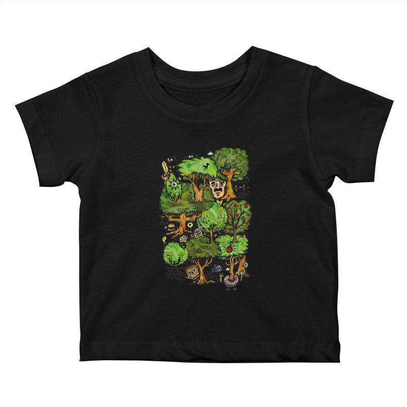 Into the Green Kids Baby T-Shirt by vtavast's Artist Shop