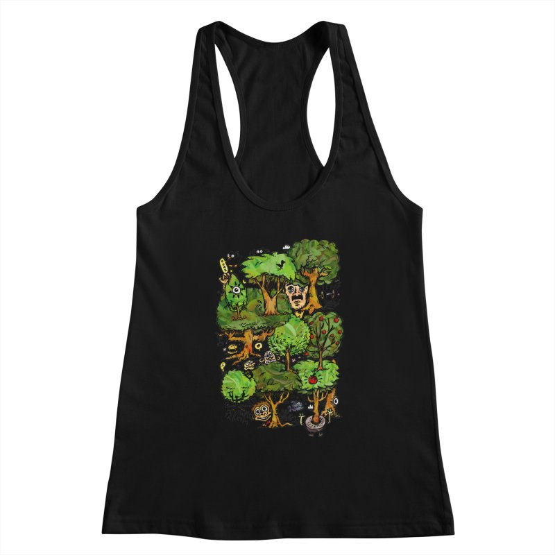 Into the Green Women's Tank by vtavast's Artist Shop