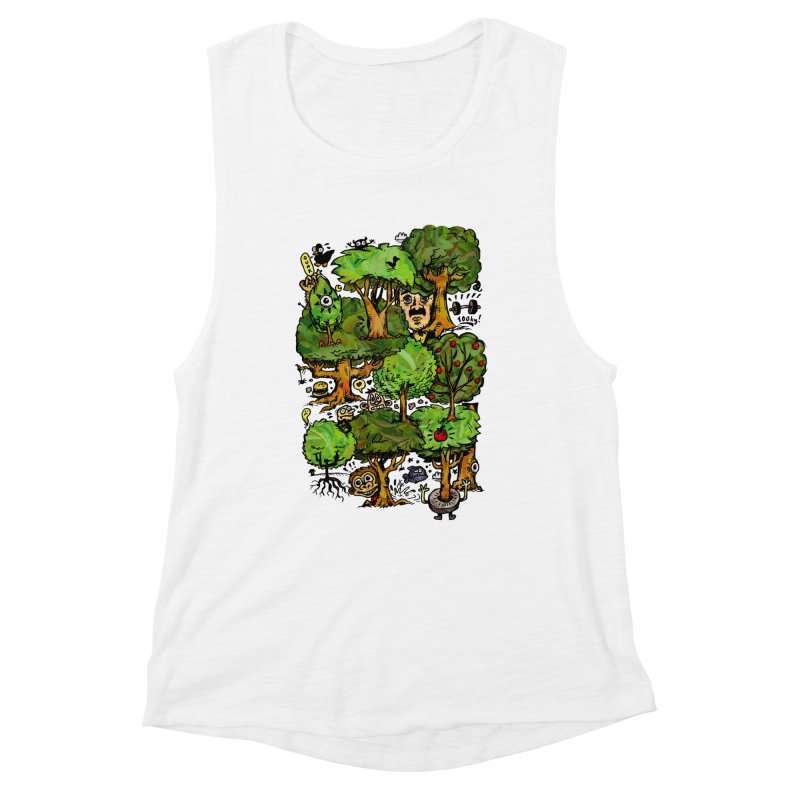 Into the Green Women's Muscle Tank by vtavast's Artist Shop