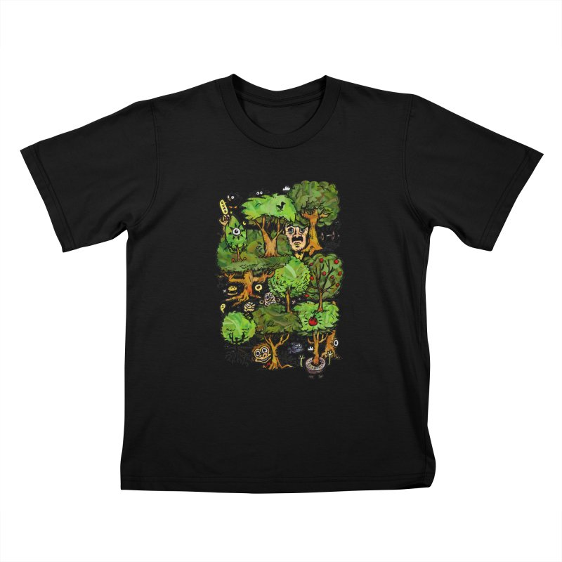 Into the Green Kids T-Shirt by vtavast's Artist Shop