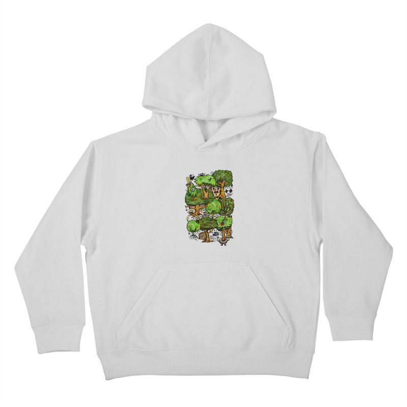 Into the Green Kids Pullover Hoody by vtavast's Artist Shop