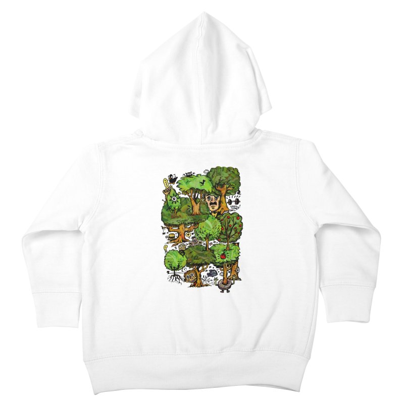 Into the Green Kids Toddler Zip-Up Hoody by vtavast's Artist Shop
