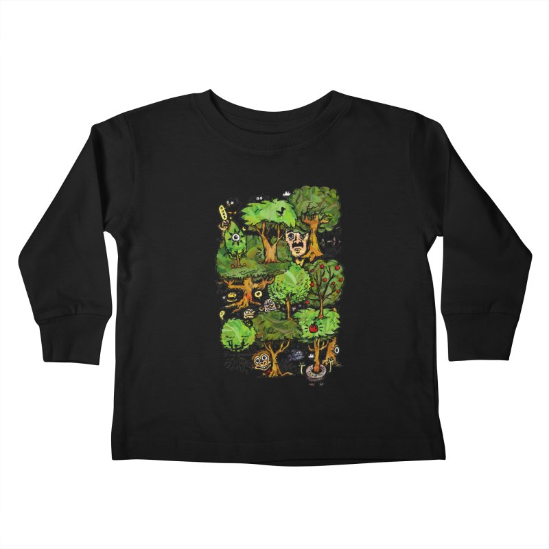 Into the Green Kids Toddler Longsleeve T-Shirt by vtavast's Artist Shop