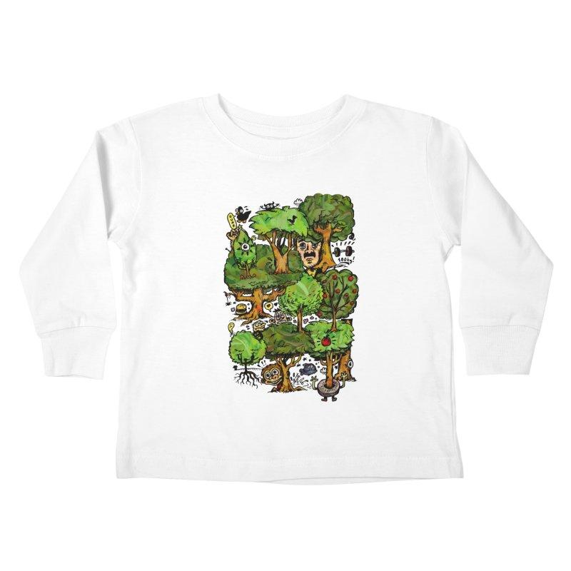 Into the Green Kids Toddler Longsleeve T-Shirt by vtavast's Artist Shop