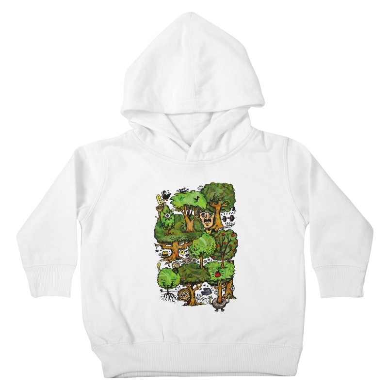 Into the Green Kids Toddler Pullover Hoody by vtavast's Artist Shop