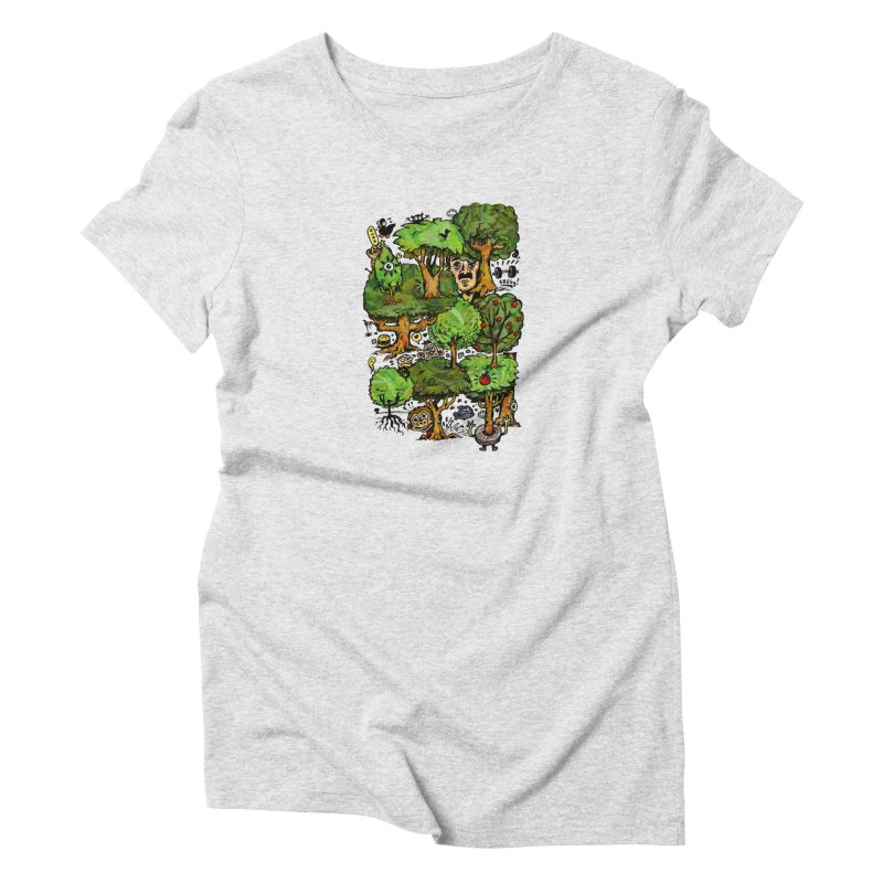 Into the Green Women's T-Shirt by vtavast's Artist Shop