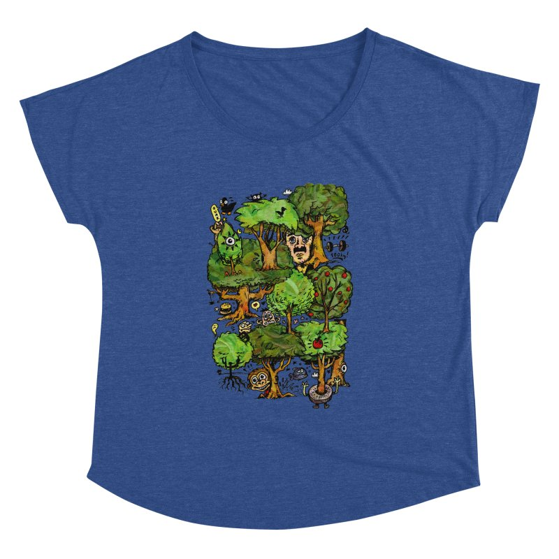 Into the Green Women's Dolman Scoop Neck by vtavast's Artist Shop