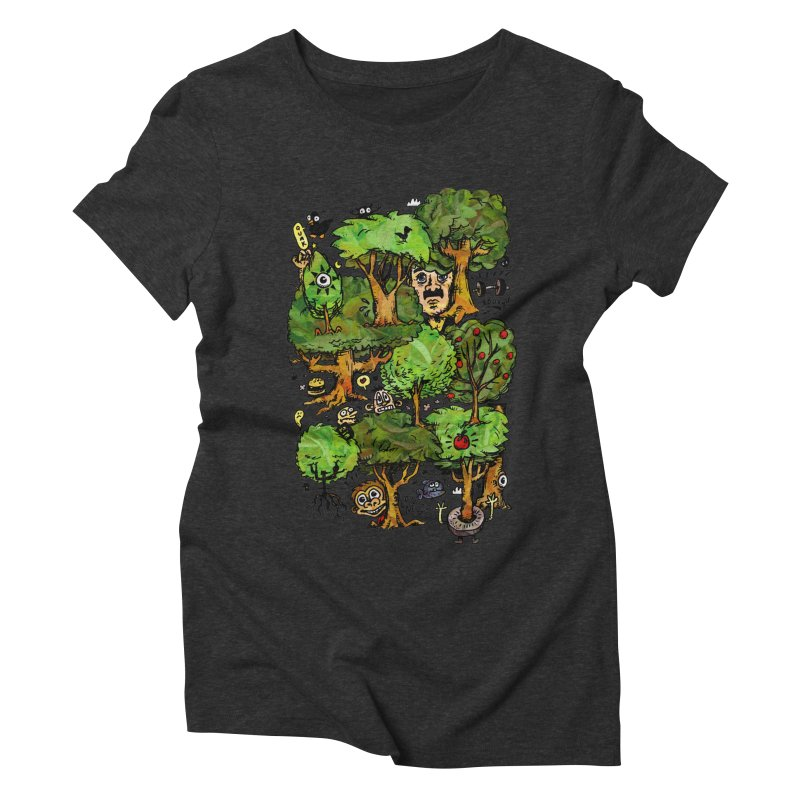 Into the Green Women's Triblend T-Shirt by vtavast's Artist Shop