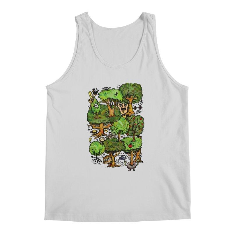 Into the Green Men's Regular Tank by vtavast's Artist Shop
