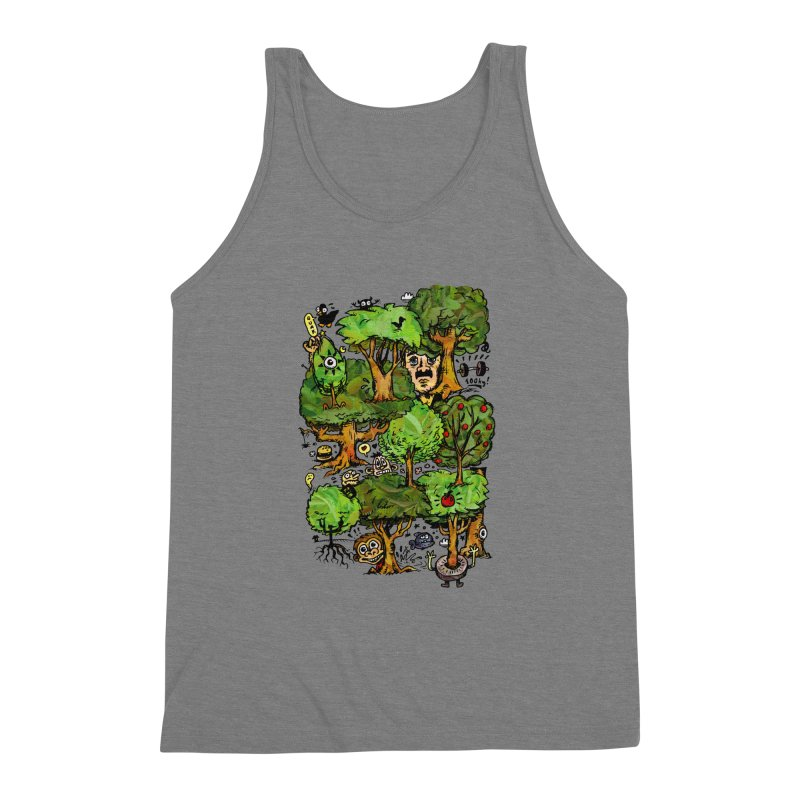 Into the Green Men's Triblend Tank by vtavast's Artist Shop
