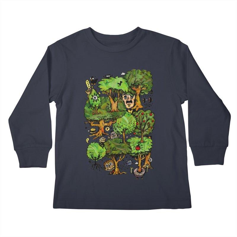 Into the Green Kids Longsleeve T-Shirt by vtavast's Artist Shop