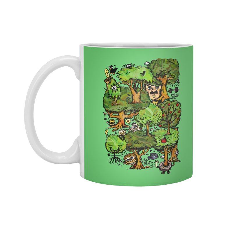 Into the Green Accessories Standard Mug by vtavast's Artist Shop
