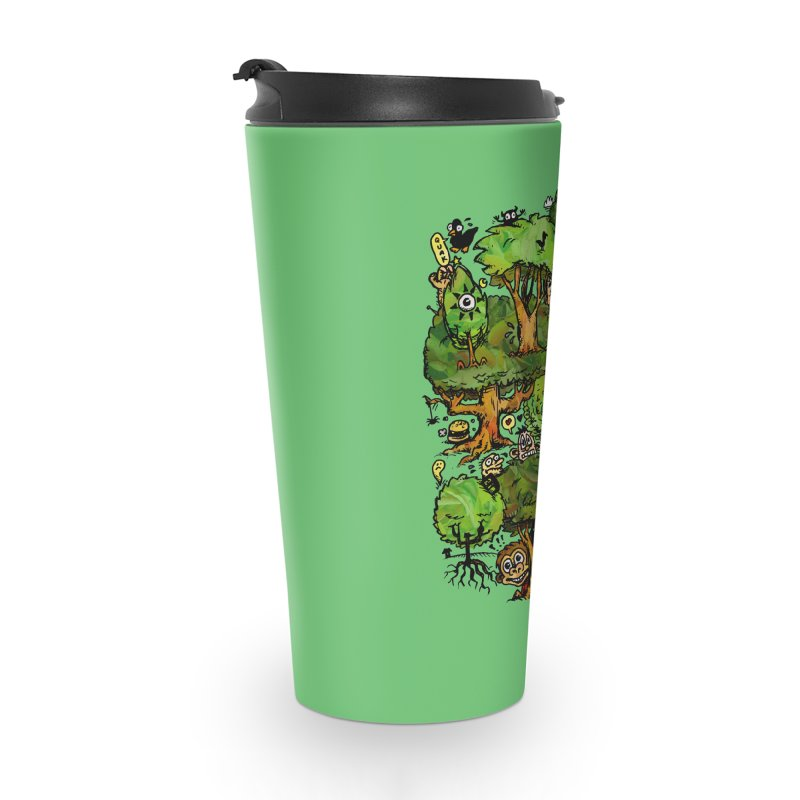Into the Green Accessories Travel Mug by vtavast's Artist Shop