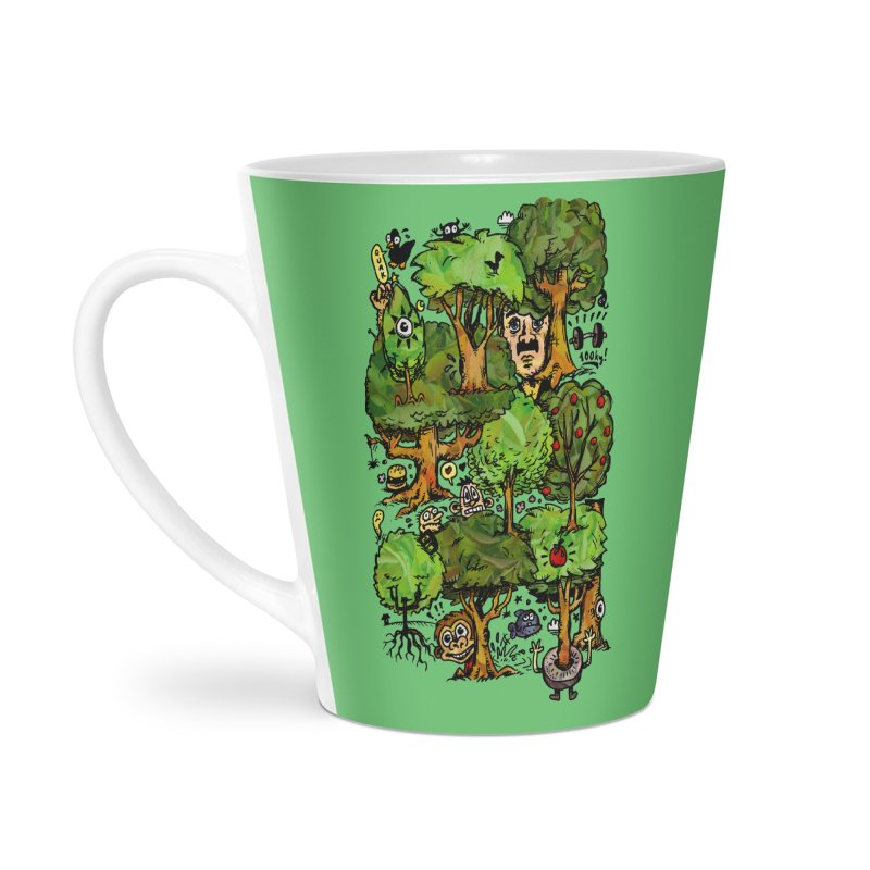 Into the Green Accessories Latte Mug by vtavast's Artist Shop