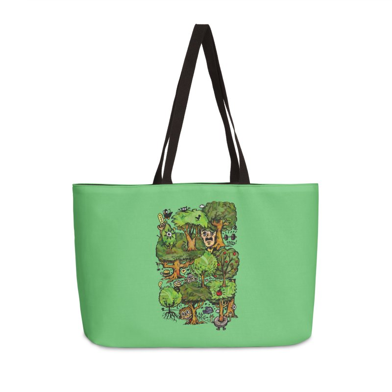 Into the Green Accessories Weekender Bag Bag by vtavast's Artist Shop