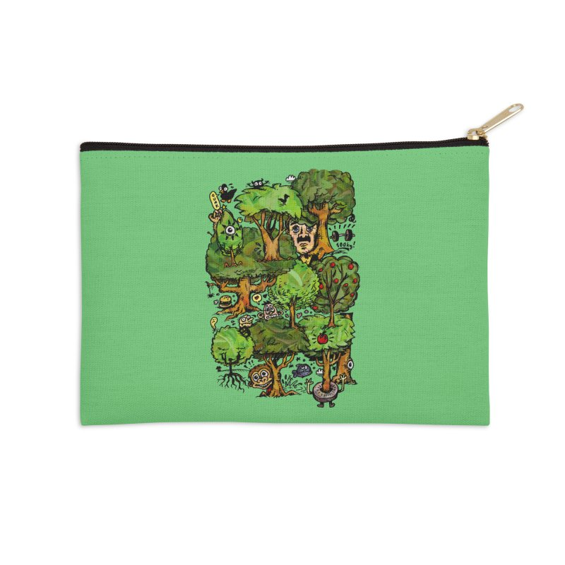 Into the Green Accessories Zip Pouch by vtavast's Artist Shop