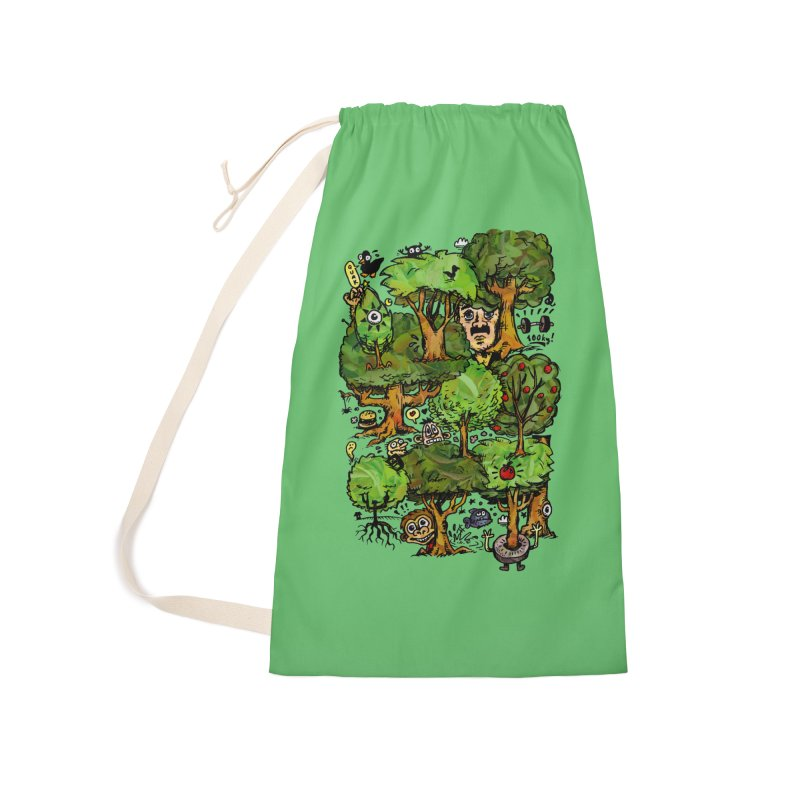 Into the Green Accessories Laundry Bag Bag by vtavast's Artist Shop