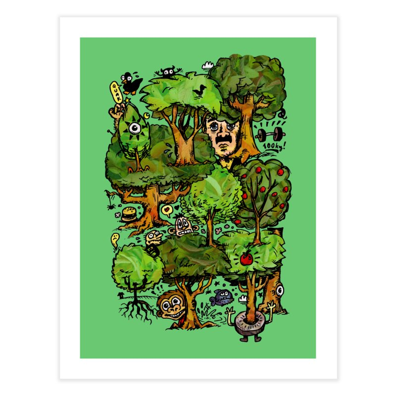 Into the Green Home Fine Art Print by vtavast's Artist Shop