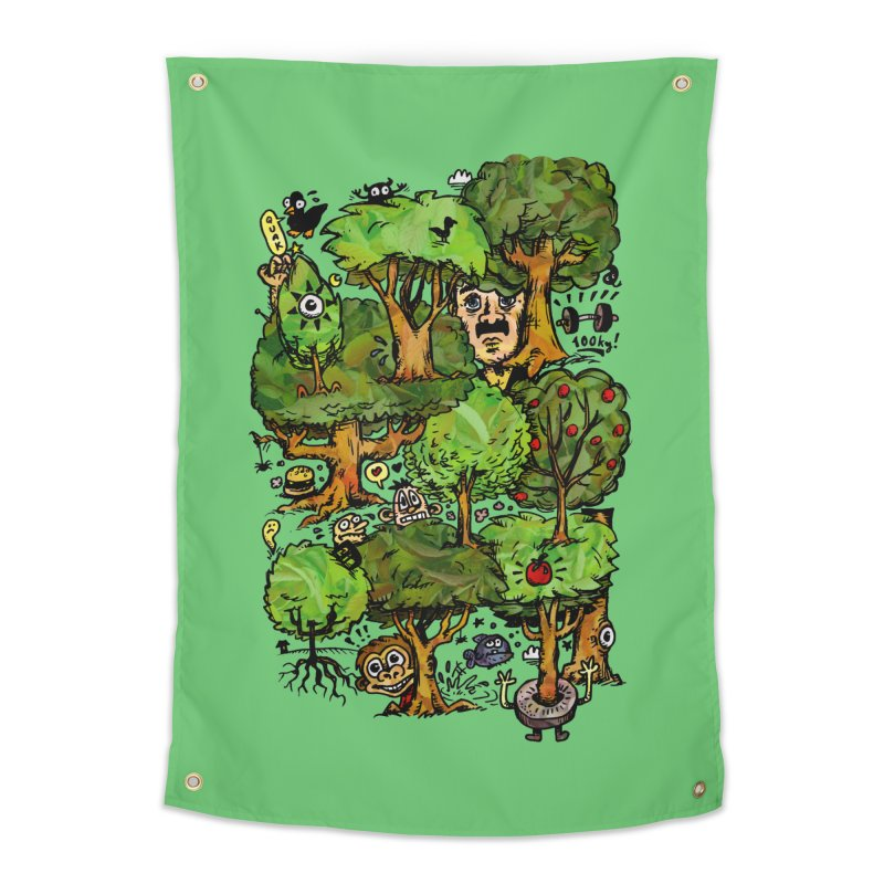 Into the Green Home Tapestry by vtavast's Artist Shop