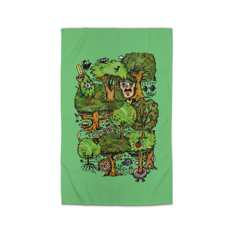 Into the Green Home Rug by vtavast's Artist Shop