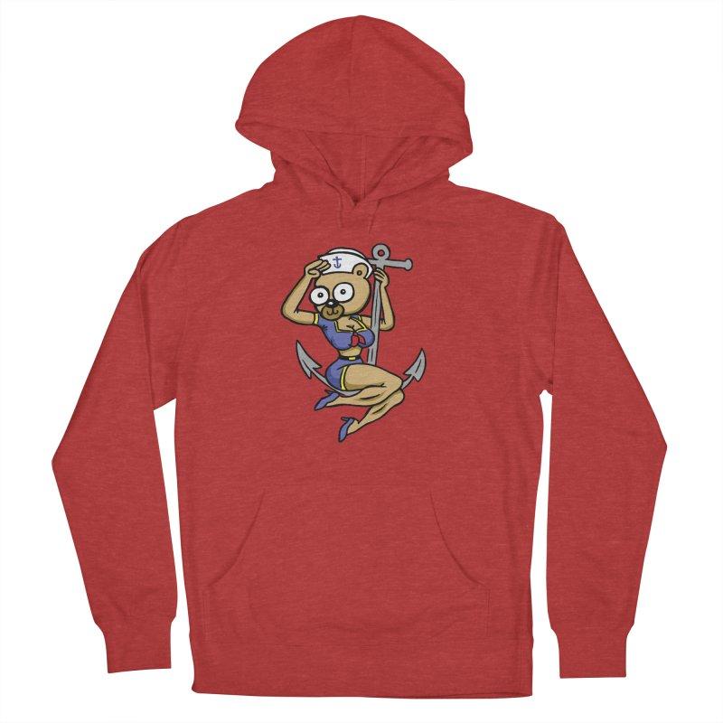 Sailor Bear Men's Pullover Hoody by vtavast's Artist Shop