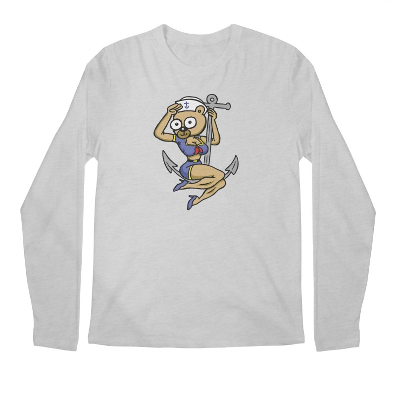 Sailor Bear Men's Longsleeve T-Shirt by vtavast's Artist Shop