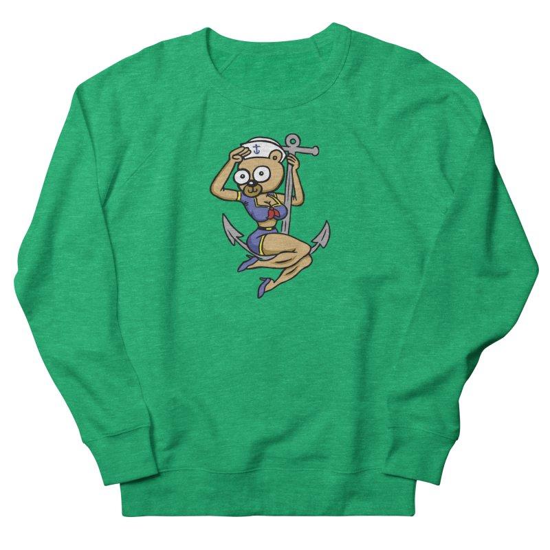 Sailor Bear Men's Sweatshirt by vtavast's Artist Shop