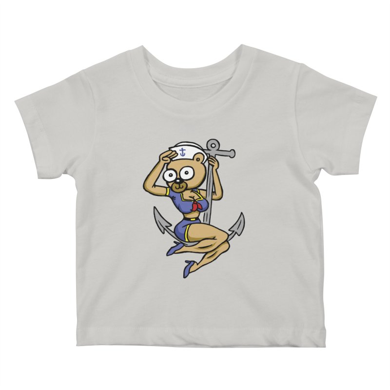 Sailor Bear Kids Baby T-Shirt by vtavast's Artist Shop