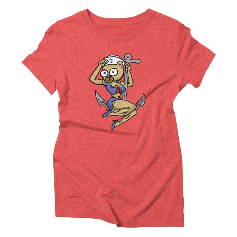 Sailor Bear Women's T-Shirt by vtavast's Artist Shop