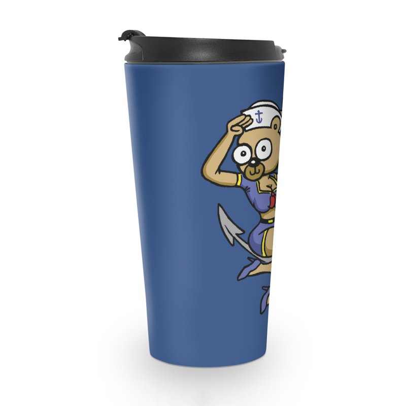 Sailor Bear Accessories Travel Mug by vtavast's Artist Shop