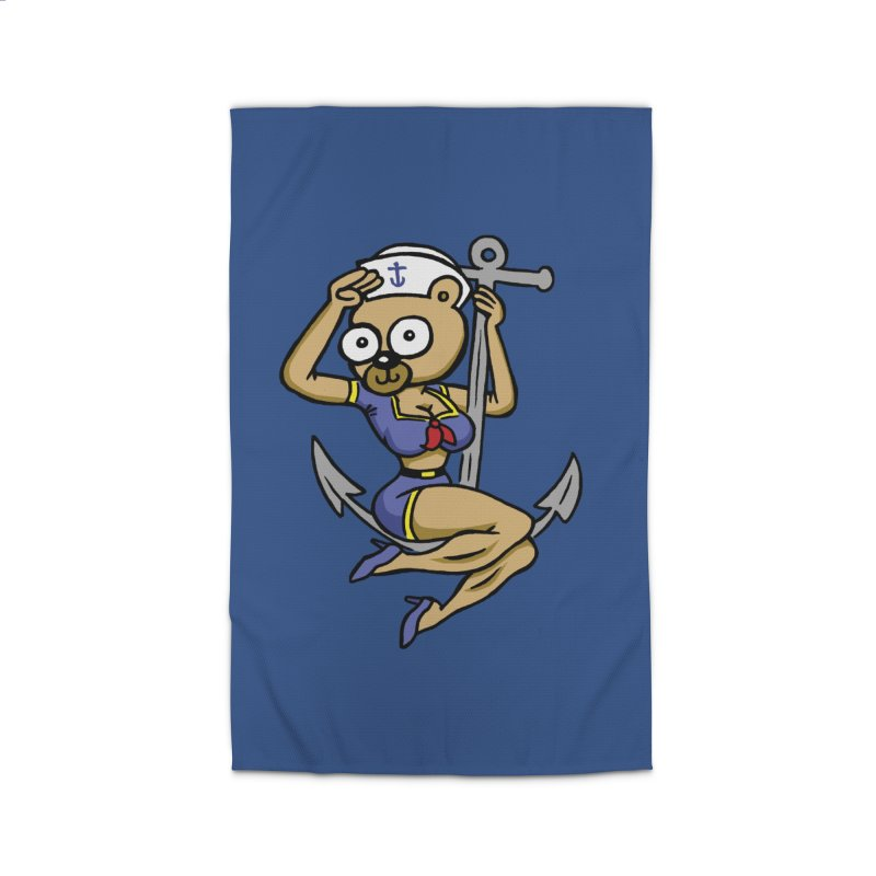 Sailor Bear Home Rug by vtavast's Artist Shop
