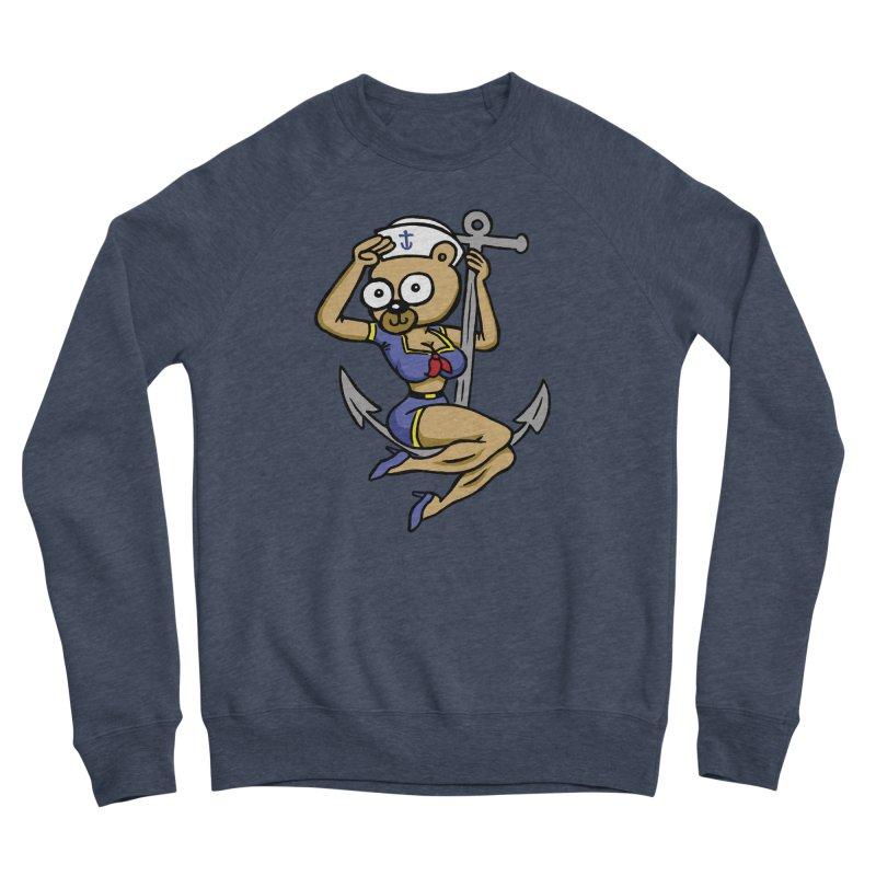 Sailor Bear Women's Sponge Fleece Sweatshirt by vtavast's Artist Shop