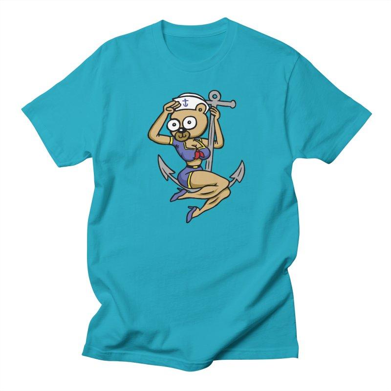 Sailor Bear Men's Regular T-Shirt by vtavast's Artist Shop