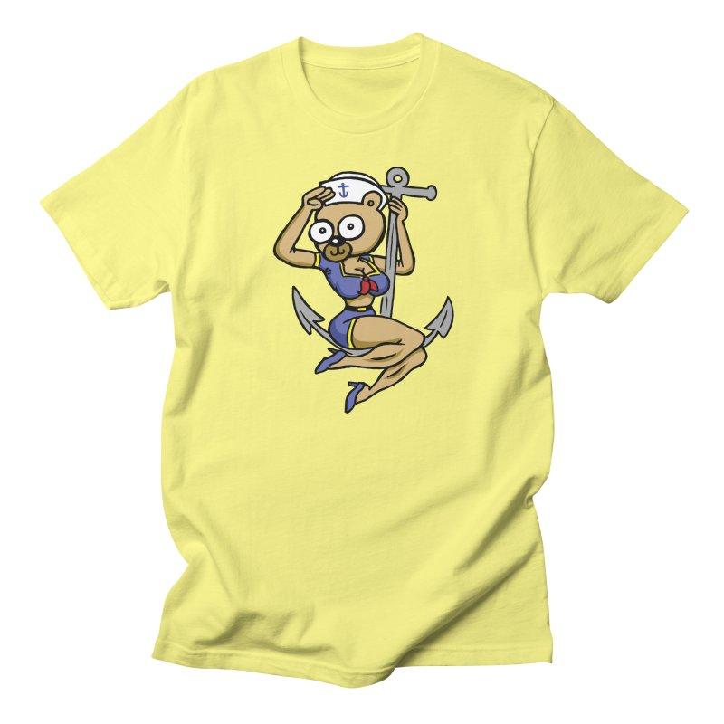 Sailor Bear Women's Regular Unisex T-Shirt by vtavast's Artist Shop