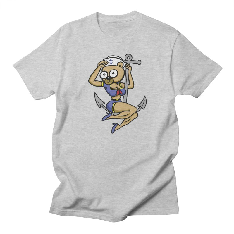 Sailor Bear Men's T-Shirt by vtavast's Artist Shop