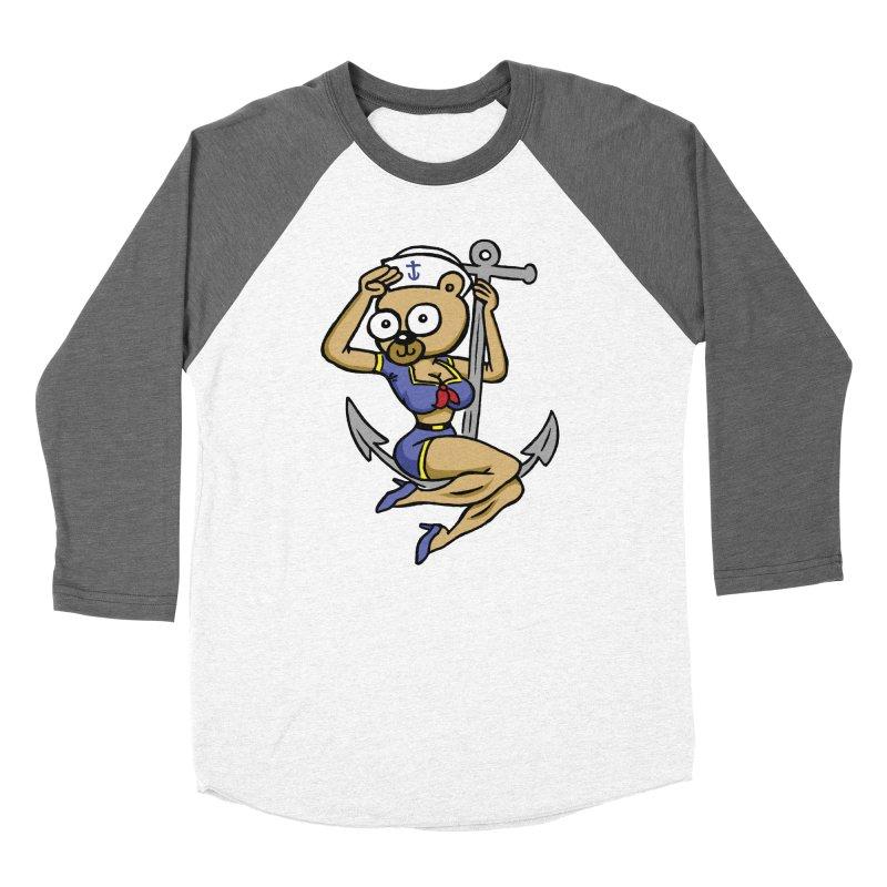 Sailor Bear Women's Baseball Triblend Longsleeve T-Shirt by vtavast's Artist Shop