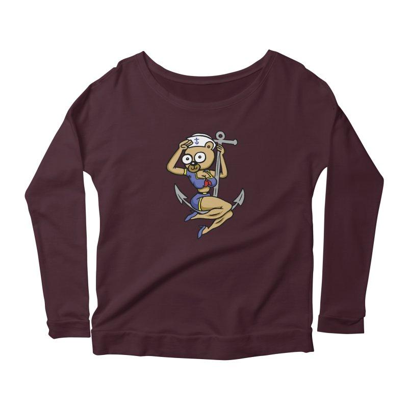 Sailor Bear Women's Longsleeve T-Shirt by vtavast's Artist Shop