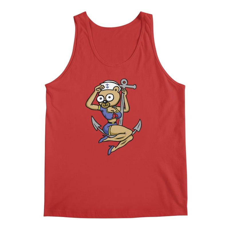Sailor Bear Men's Regular Tank by vtavast's Artist Shop