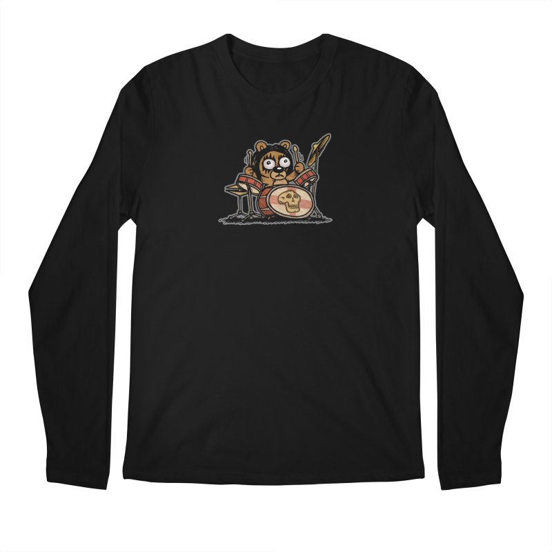 Rockin' Bear Men's Regular Longsleeve T-Shirt by vtavast's Artist Shop