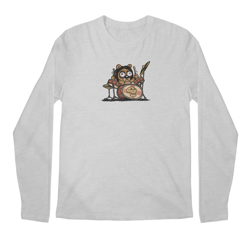 Rockin' Bear Men's Regular Longsleeve T-Shirt by vtavast's Artist Shop