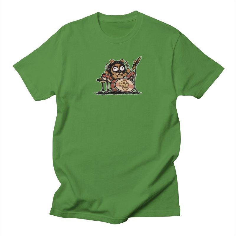 Rockin' Bear Women's Regular Unisex T-Shirt by vtavast's Artist Shop