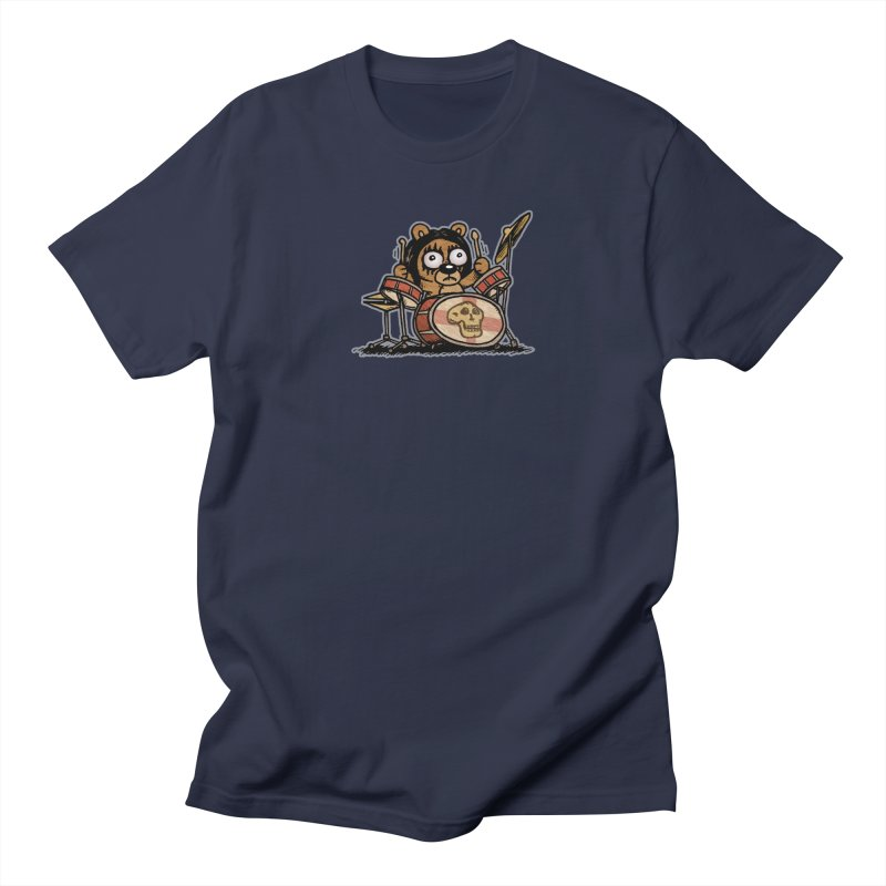 Rockin' Bear Men's Regular T-Shirt by vtavast's Artist Shop