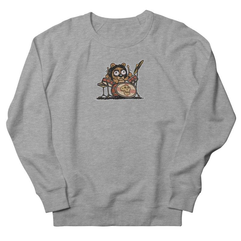 Rockin' Bear Women's French Terry Sweatshirt by vtavast's Artist Shop