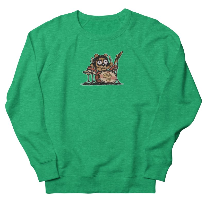 Rockin' Bear Men's French Terry Sweatshirt by vtavast's Artist Shop