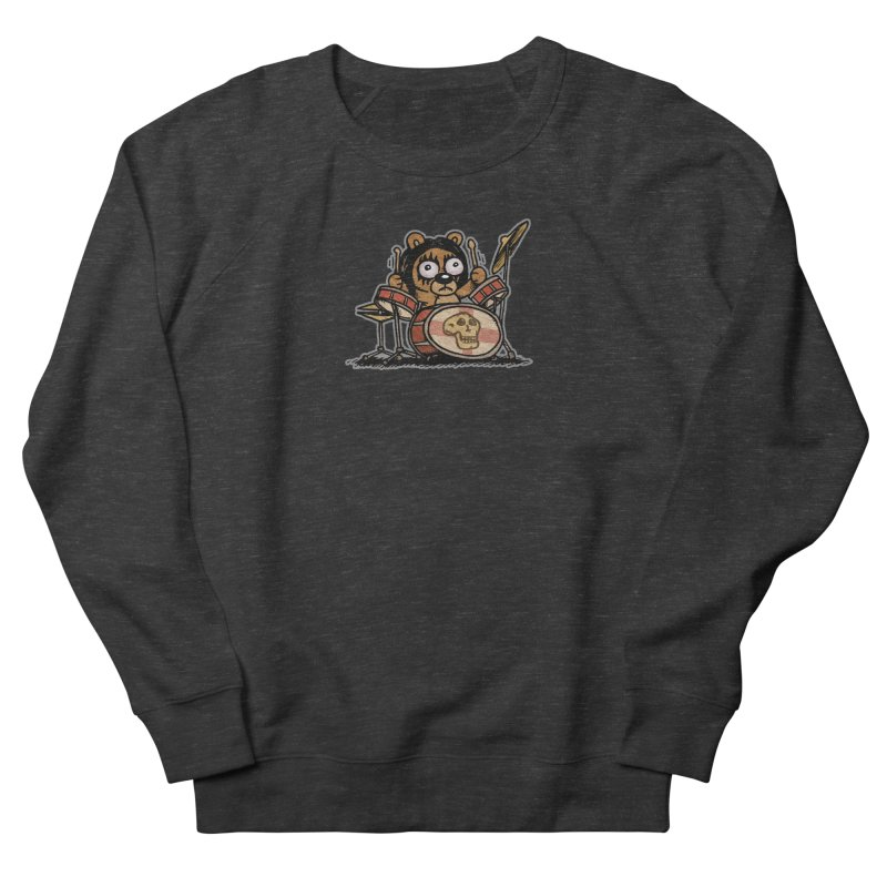 Rockin' Bear Men's French Terry Sweatshirt by vtavast's Artist Shop