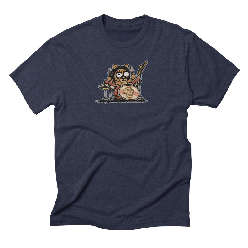 Rockin' Bear Men's Triblend T-Shirt by vtavast's Artist Shop