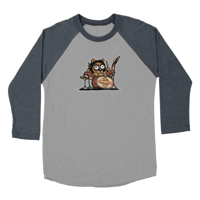 Rockin' Bear Women's Baseball Triblend T-Shirt by vtavast's Artist Shop