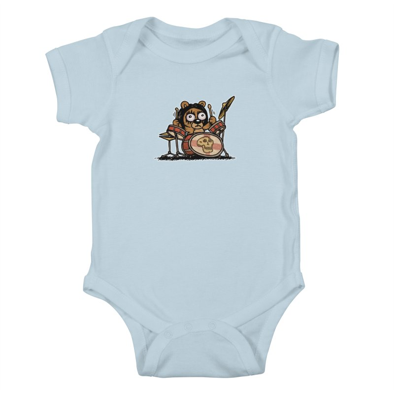 Rockin' Bear Kids Baby Bodysuit by vtavast's Artist Shop