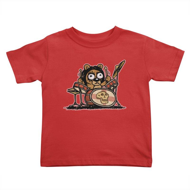 Rockin' Bear Kids Toddler T-Shirt by vtavast's Artist Shop