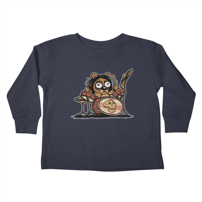 Rockin' Bear Kids Toddler Longsleeve T-Shirt by vtavast's Artist Shop